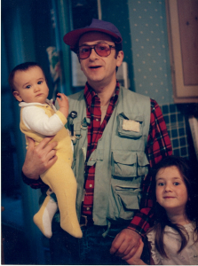 Despite photos like this, my daughters still love me.