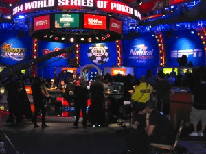 WSOP featured table