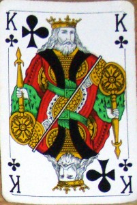 A king of clubs